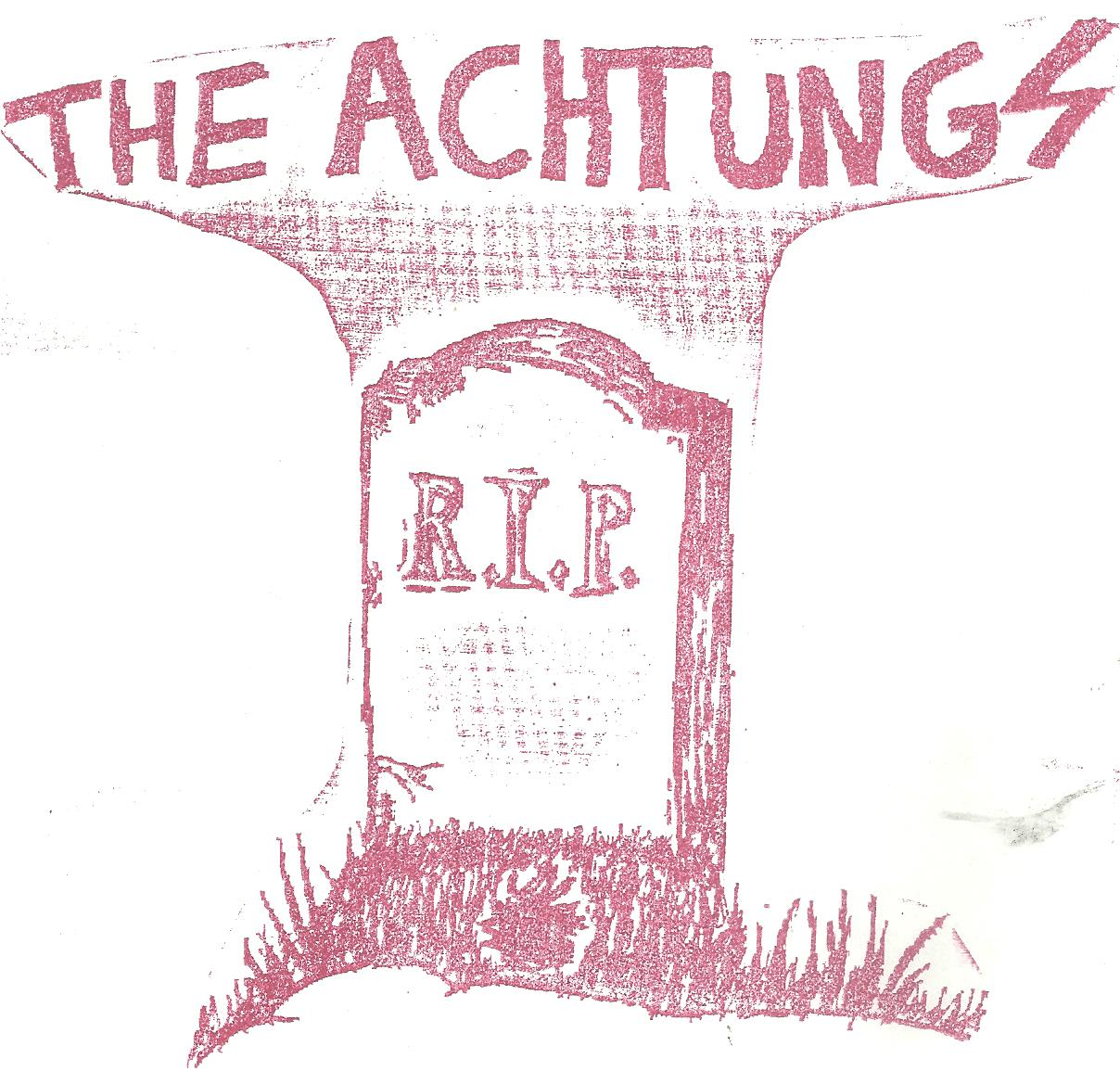 "Achtungs - Full of Hate 7"" (Total Punk)"
